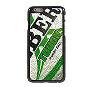 Rugby Design Aluminum Hard Case for iPhone 6
