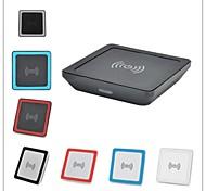 super mini cargador inalámbrico qi universal para teléfono móvil de Samsung