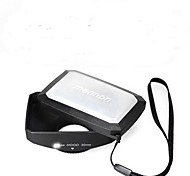 Mennon 77mm 16:9 Rectangular Wide Angle Lens Hood + W/B cap for Camera Camcorder