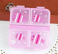 Cute Mini Plastic Bill Box(1 Pc)