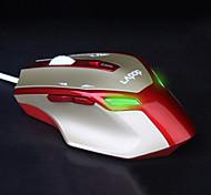 Sunsonny usb luminoso óptico 1800dpi ratón de juego con cable-jm 8600