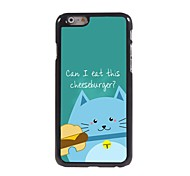 Can I Eat Design Aluminum Hard Case for iPhone 6
