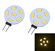 G4 3W 12 SMD 5730 230 LM Warm wit 2-pins LED-lampen DC 12 V