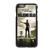 The Walking Dead Pattern Aluminum Hard Case for iPhone 6 Plus