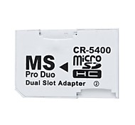 2 Slots Micro SD SDHC TF to Memory Card Converter for Phone Tablet Game Camera