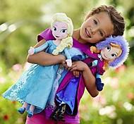 Frozen Sparkle Princess Elsa and AnnaStuffed Soft Plush Doll (2pcs 21 Inch)