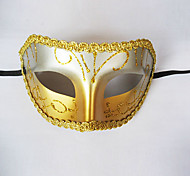 Midnight Prince Halloween Party Half-face Mask