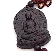 Duo Ji Mi ® Big Buddha Ebony Chinese Knot Car Pendant Hanging Decorations