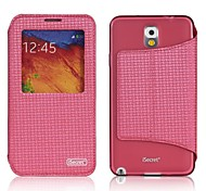 iSecret+® City Series Full Body PU Leather Smart Case With Auto Awaken for Samsung Galaxy Note3 N9000(Assorted colors)