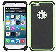 New 3 in 1 Design Football Line Silicon PC Colorful Back Case Cover for for iPhone 6/6S(Assorted Colors)