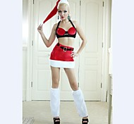 Sexy Two Part  Adult Woman's Christmas  Costume