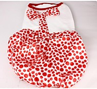 Lovely Big Wave Point Dress with Bowknot for Pets Dogs (Assorted Sizes)