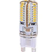 3W G9 Bombillas LED de Mazorca T 64 SMD 3014 360 lm Blanco Cálido AC 100-240 V