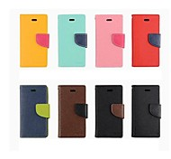 Contrast color PU/TPU Full Body Case with Wallet and Stand Function for iPhone 6/6S  4.7inch (Assorted Colors)