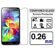 antischegge schermo in vetro temperato pellicola protettiva di alta qualità per mini Samsung Galaxy S5