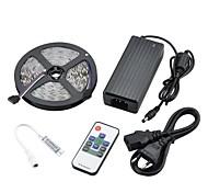 5M 72W 3000LM 300x5050 SMD Mini RGB Light LED Strip Light Kits(DC 12V)