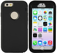 Hybrid 3 in 1 Hard Case for iPhone 6 (Assorted Colors)
