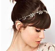 goldenen Blätter Haarband Stirnband