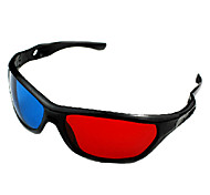 tempestade hd modo 3D, cinema e televisão, computador azul vermelho, óculos 3D estéreo verde vermelho
