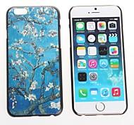Lovely Flower Design Hard Case for iPhone 6