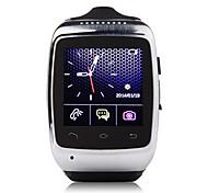 zgpax® s15 dos homens relógio inteligente telefone Bluetooth 3.0 Sincronização de chamada / sms / música do Android / iOS telefones