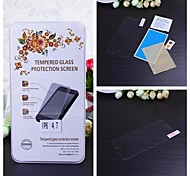 Tempered Glass Transparent Front Screen Protector with Cleaning Cloth for iPhone 6