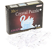 44PCS Crystal Swan Jigsaw Puzzle
