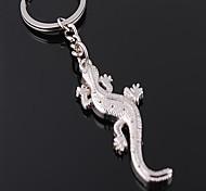 High Quality Zinc Alloy Gecko Style Keychain
