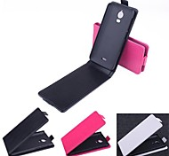 Hot Sale 100% PU Leather Flip Leather Case for Wiko Wax(Assorted Colors)