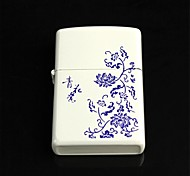 Blue And White Porcelain Pattern Oil  Lighter