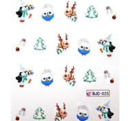 Water Transfer Christmas Series Nail Sticker 025