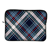 "Huado® 10""12"" H44275 Blue And White Stripe Pattern Laptop Case"