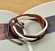 Fashion Unisex's Multi-turn PU Leather Bracelets