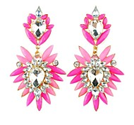European Style Flowers Fashion Drop Earrings Hot Sale