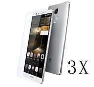 [3-Pack]Professional High Transparency LCD Crystal Clear Screen Protector with Cleaning Cloth for Huawei Mate 7