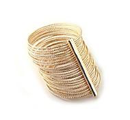 Egyptian Style Multilayer Gold Bracelet