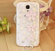 Diamant-Blumen Hülle für Samsung Galaxy S4 Mini i9190 (verschiedene Farben)
