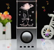 Personalized Gift Crystal Rose Speaker LIWUYOU™