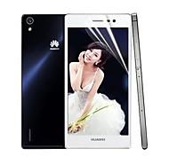 professionelle hohe Transparenz lcd kristallklare Displayschutzfolie mit Reinigungstuch für Huawei Ascend p7