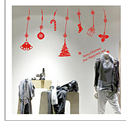 ZOOYOO® Cute Colorful PVC Removable christmas pendant picture of  Wall Stickers Hot Selling Wall Decals For Home Decor