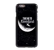 leve-me para Neverland hard case de alumínio de design para iPhone 6 Plus