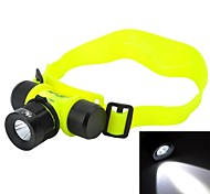 Pange Cree XP-E Q5 3-Mode 200lm White Zoomable LED Diving Headlamp - (1 x 18650 / 3 x AAA)