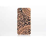 UMKU®Leopard Print Plastic Hard Back Cover for iPhone 6