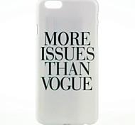 mais questões do que padrão de moda para o iPhone 6