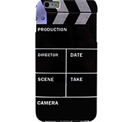 Movie Mode Pattern TPU Soft Case for iPhone 6/6S