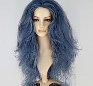 Cosplay Wigs Fairytale Movie Cosplay Blue Solid Wig Halloween Christmas New Year Female