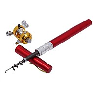 Mini Rod / Pen Rod / Fishing Rod + Reel / Fishing Rod Pen Rod FRP 160 MSea Fishing / Fly Fishing / Bait Casting / Ice Fishing /