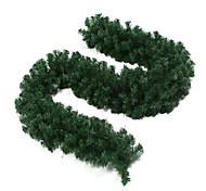 2.7m Green Colored Christmas Decorating Plastic Rattan