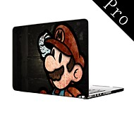"""Cartoon-Design Ganzkörper-Kunststoffschutzhülle für MacBook Pro 13 """"/ 15"""" (non-Retina)"""