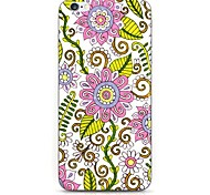 Pink Flower Pattern Hard Case Cove for iPhone 6